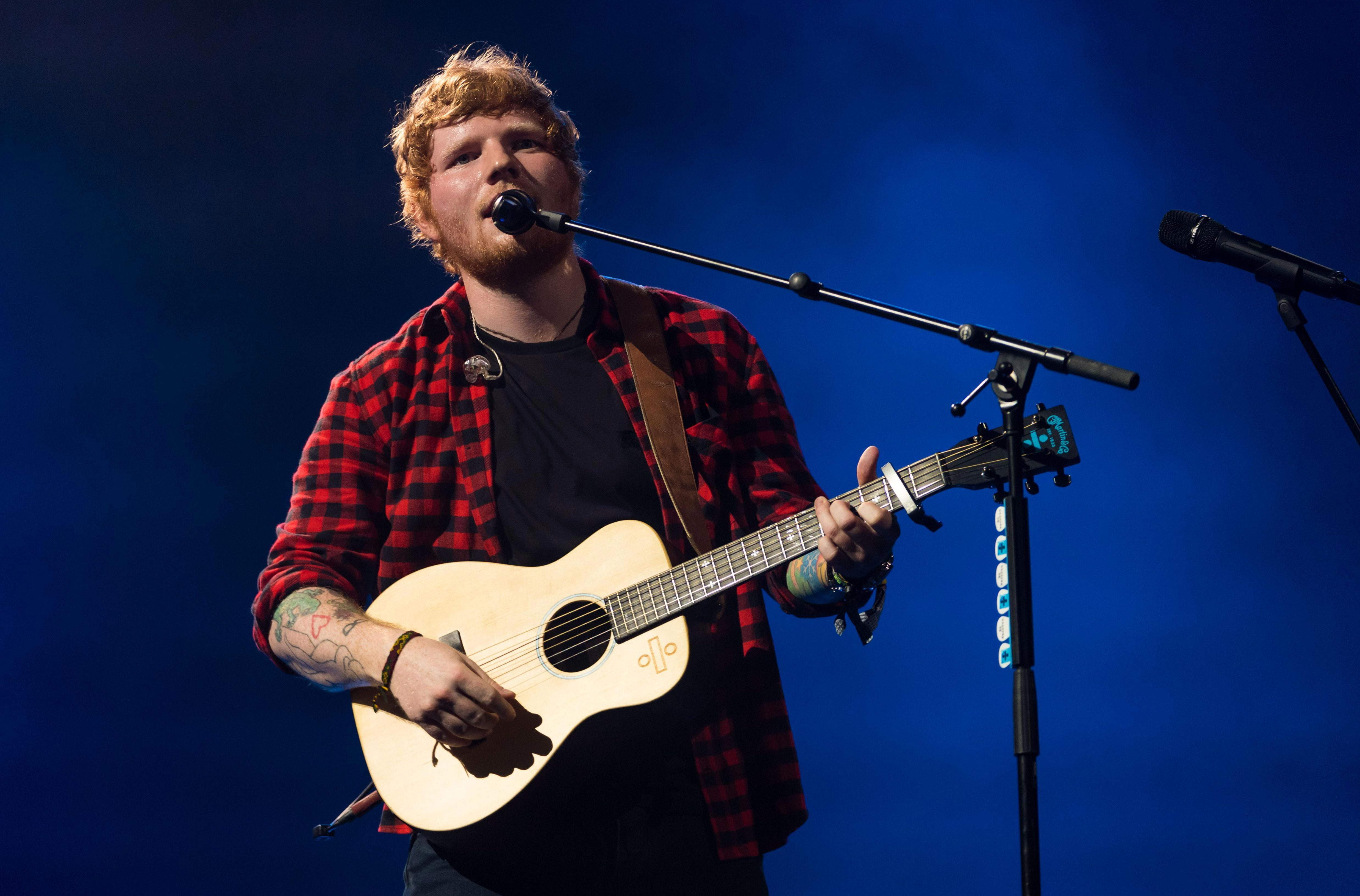 Ed Sheeran has scheduled 23 European and UK tour dates