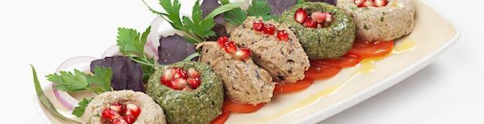 Пхали из баклажанов грузинская кухня