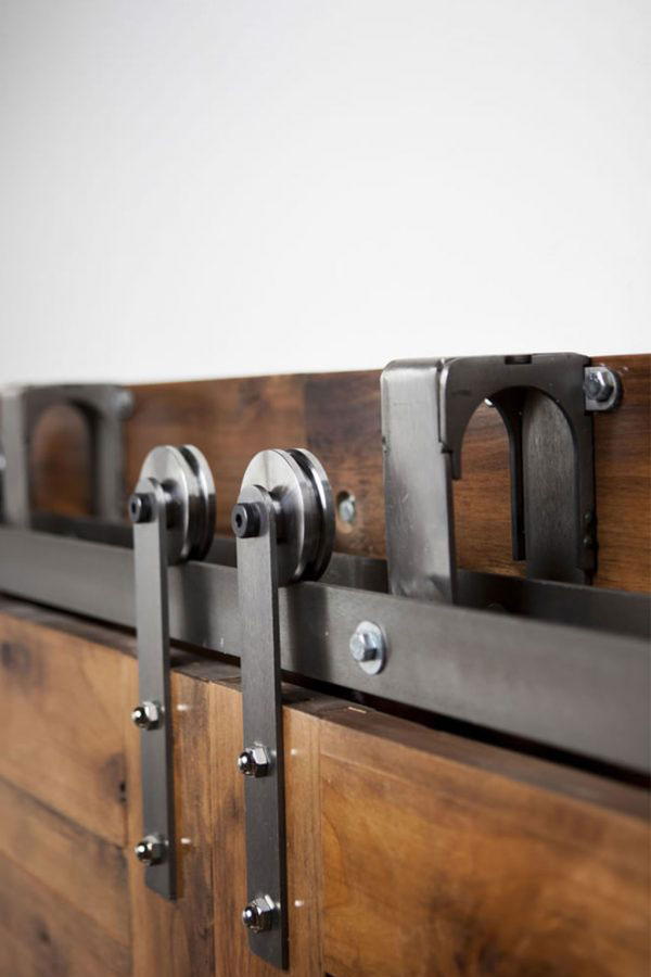 Bypass Sliding Barn Door Hardware Kit Rustica Hardware
