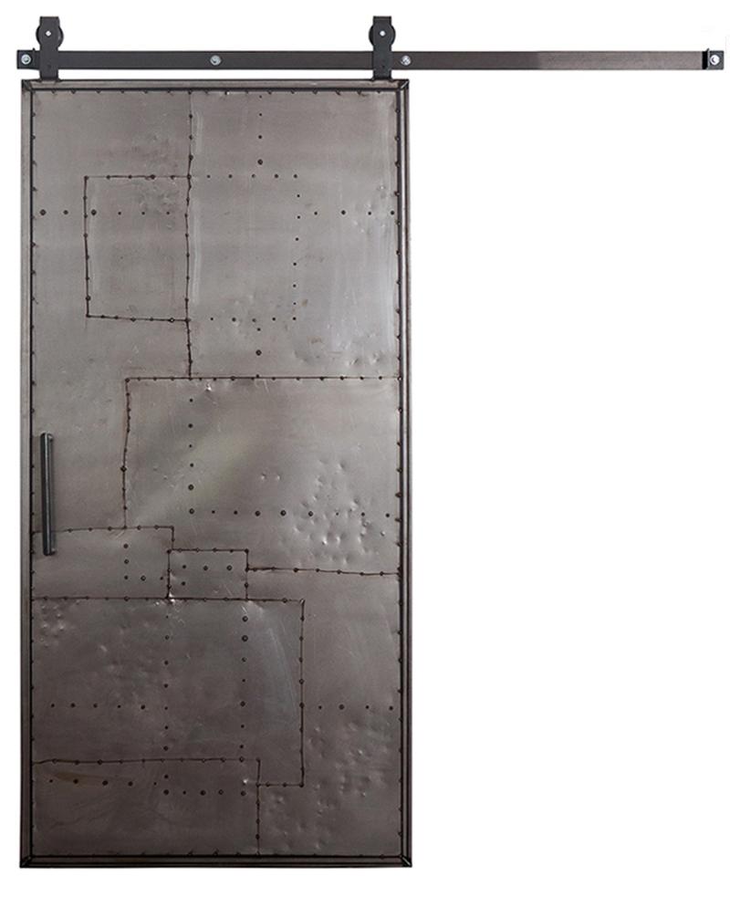 Mountain Scrap Metal Barn Door Interior Sliding Rustica Hardware