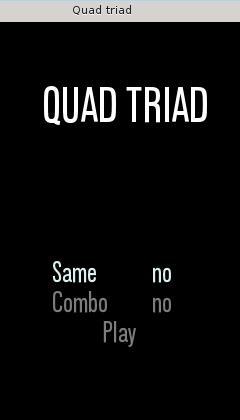 Quadtriad