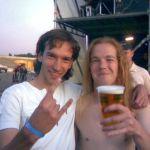 Me and Ari?n Van Weesenbeek (Epica, drums)