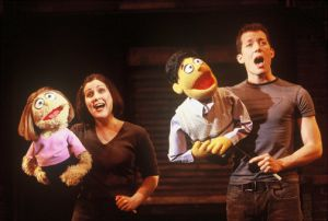 Avenue Q live stage photo (Princeton & Kate Monster)