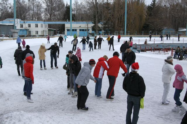 Skating ground