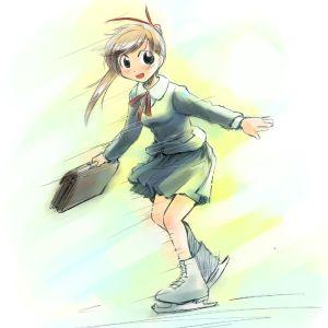 Anime skating