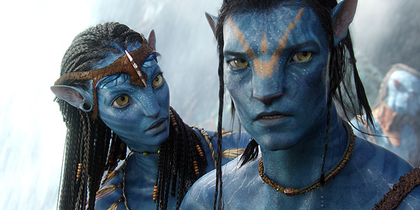 Avatar: Neytiri & Jake Sully