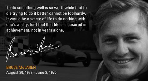 Bruce McLaren quote