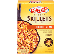 Image of Velveeta Cheesy Skillets Cheesy Chili Mac