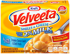 Image of Velveeta Shells & Cheese 2% Milk