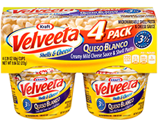 Image of Velveeta Shells & Cheese Queso Blanco Cups