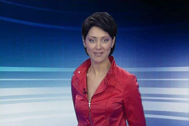 Телеведущая Ирина Полякова