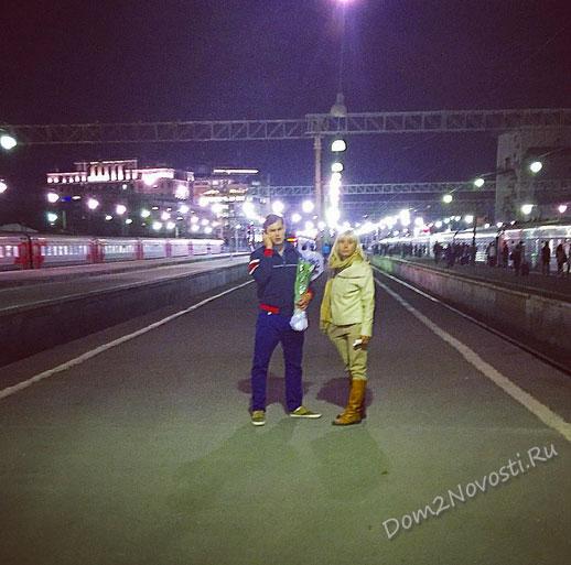Илья с мамой