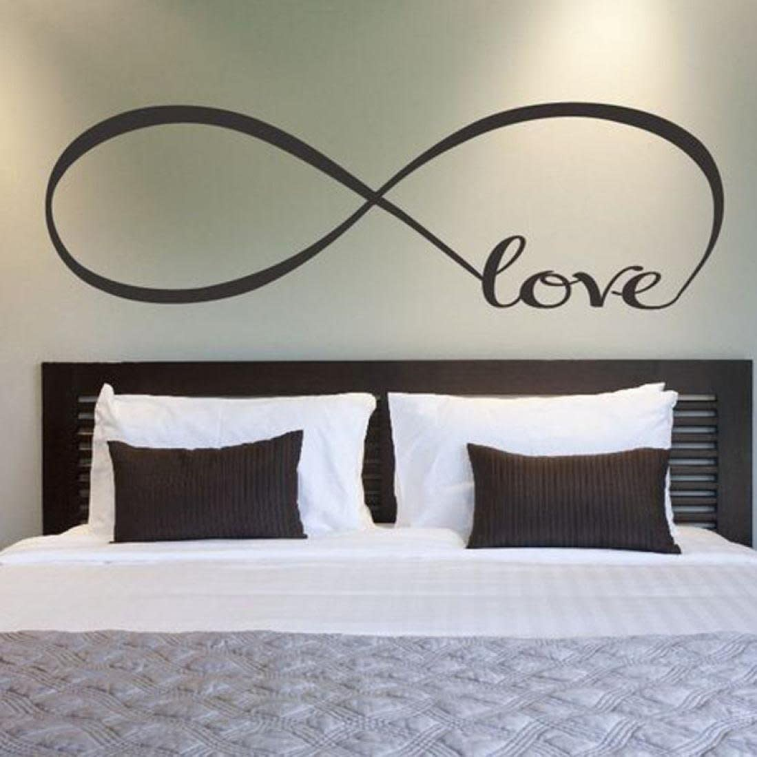 Love Bedroom Decor Removable Decal Art Mural Home Room Decor Wall Sticker Word Love