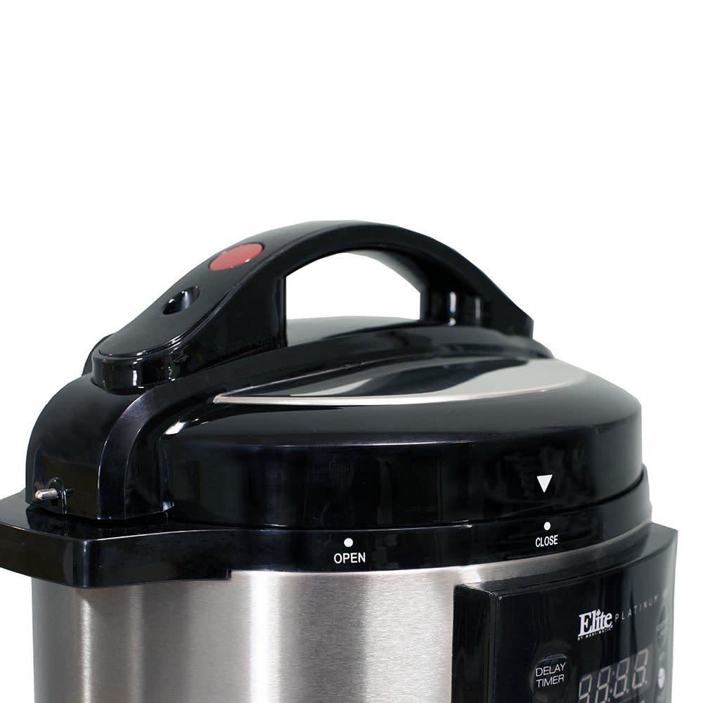 Elite Platinum EPC-414 Maxi-Matic 4 Quart Electric Pressure Cooker, Black (Stain