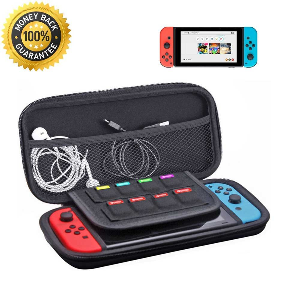 Deluxe Carrying Case Hard Protective Travel Storage Bag for Nintendo Switch New
