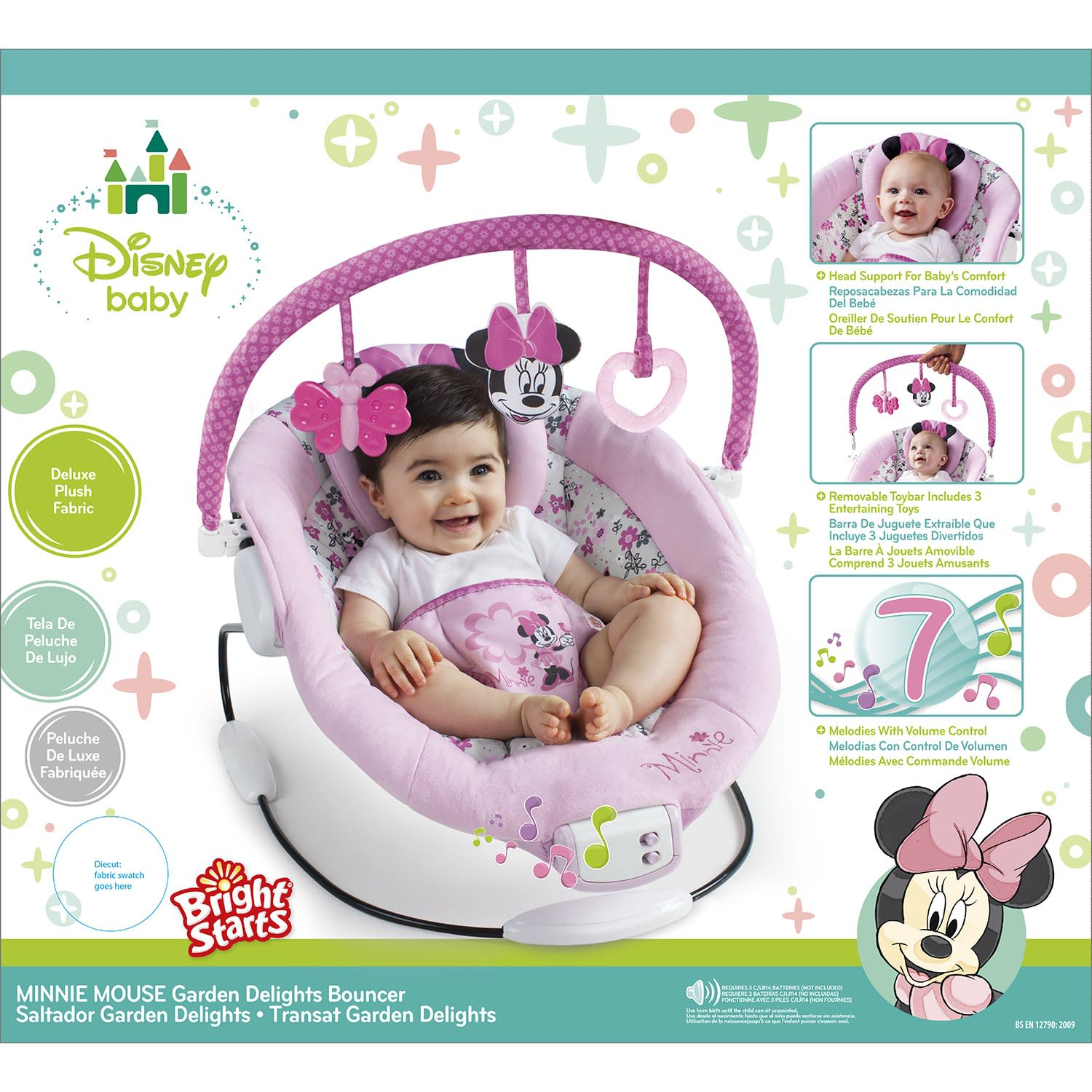 Baby girl vibrating chair - Product Details