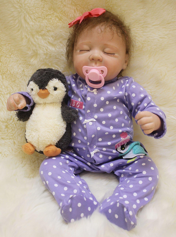 Full silicone reborn baby doll 20