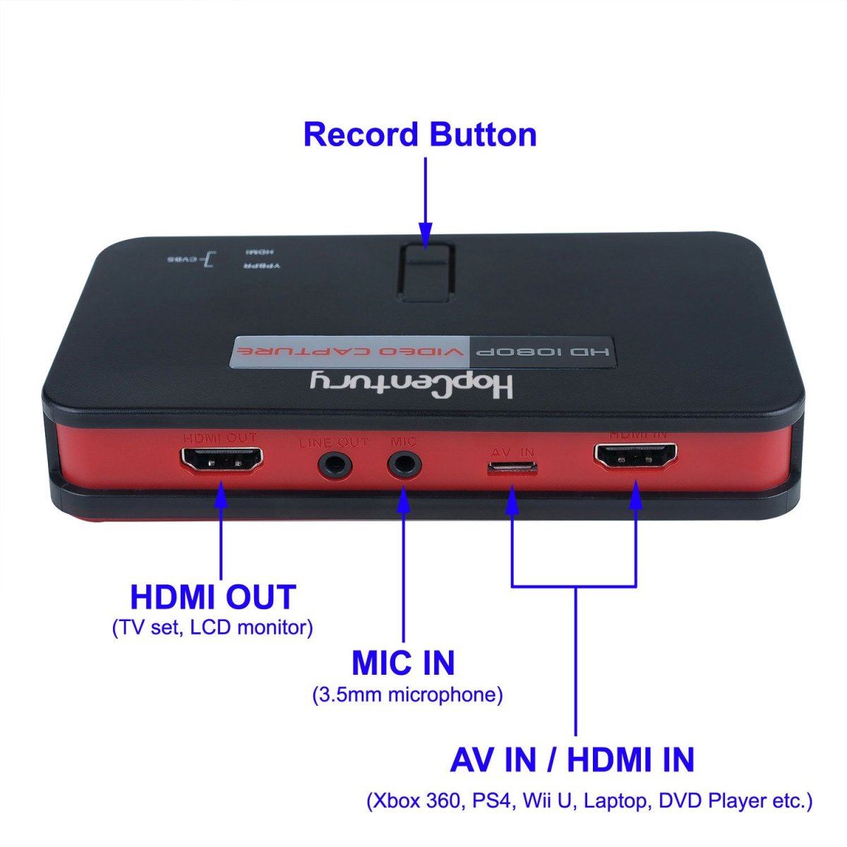 Amazoncom HD Game Video Capture Box Card HDMI 1080P