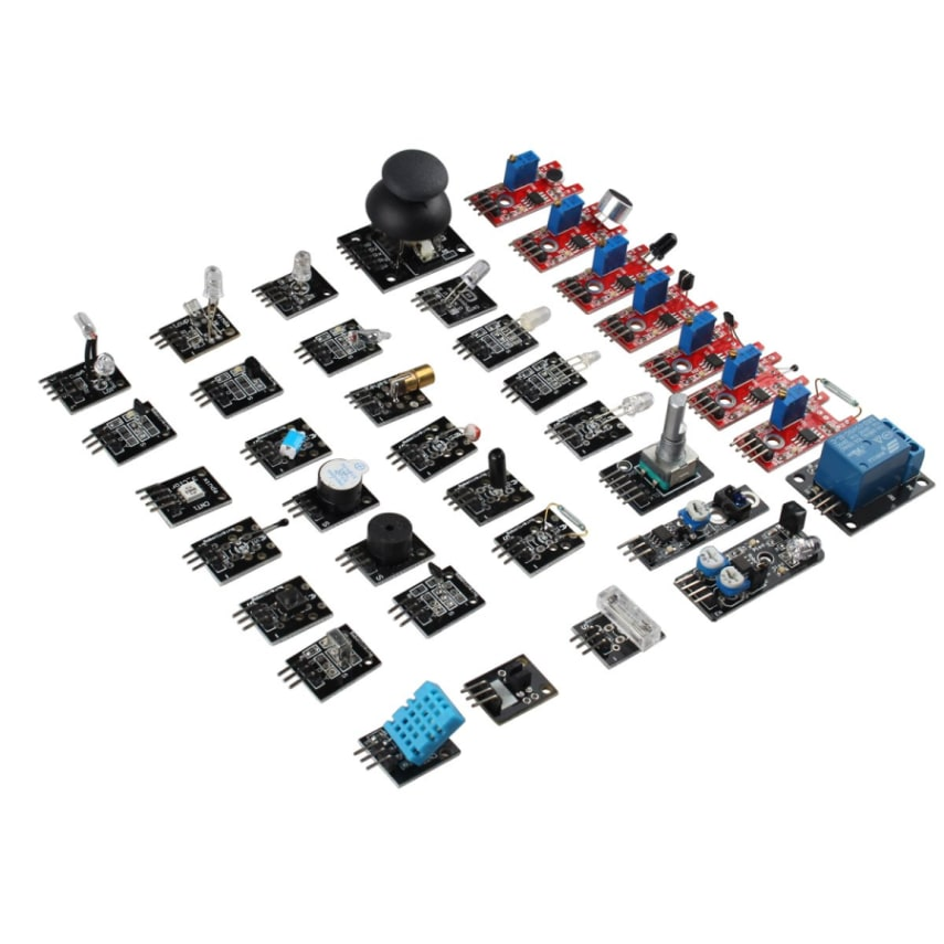 Haljia in sensor module kit with tutorial pdf for