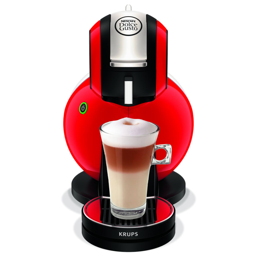 Krups Drip Coffee Maker Manual : ORIGINAL NESCAFE Dolce Gusto Melody 3 Manual Coffee Machine by Krups - Red eBay