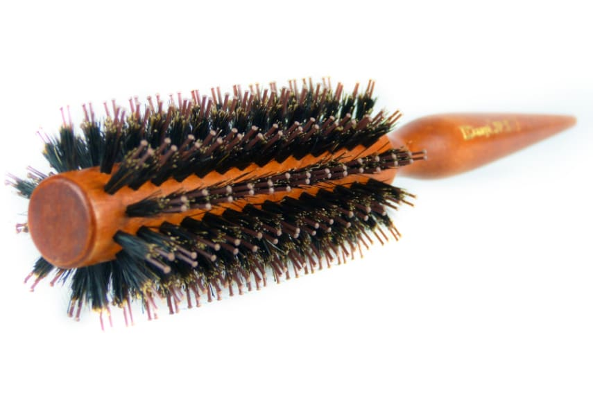Styling Essentials Natural Boar Bristles Brush With Pin