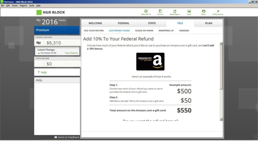 H&r block software download coupon code