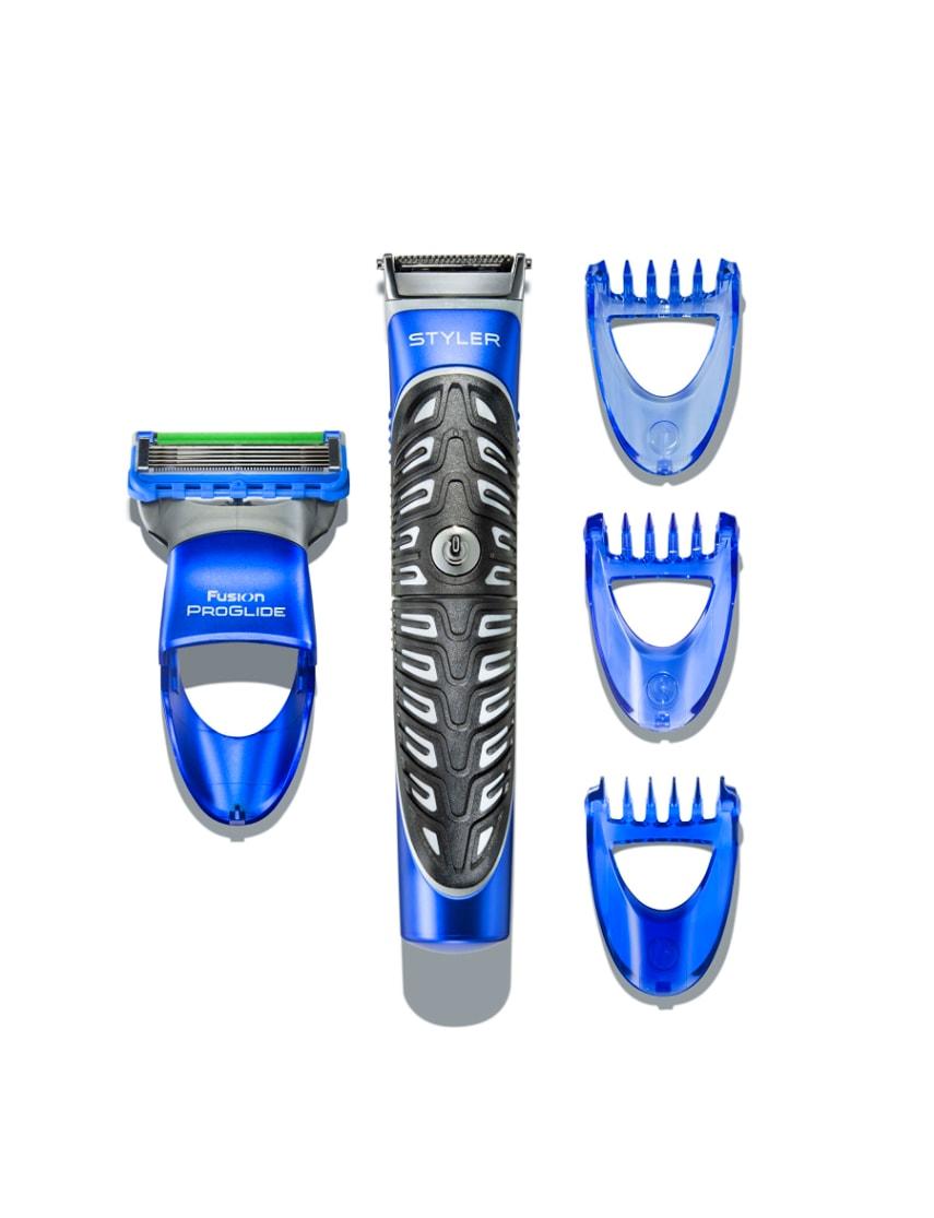 gillette fusion proglide styler 3 in 1 razor beard trimmer edging blade ebay. Black Bedroom Furniture Sets. Home Design Ideas