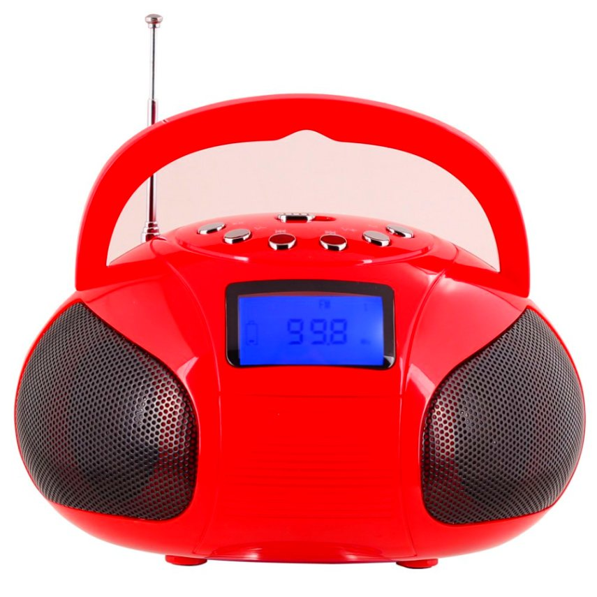 august se20 portable alarm clock radio with bluetooth speaker mini mp3 stere ebay. Black Bedroom Furniture Sets. Home Design Ideas