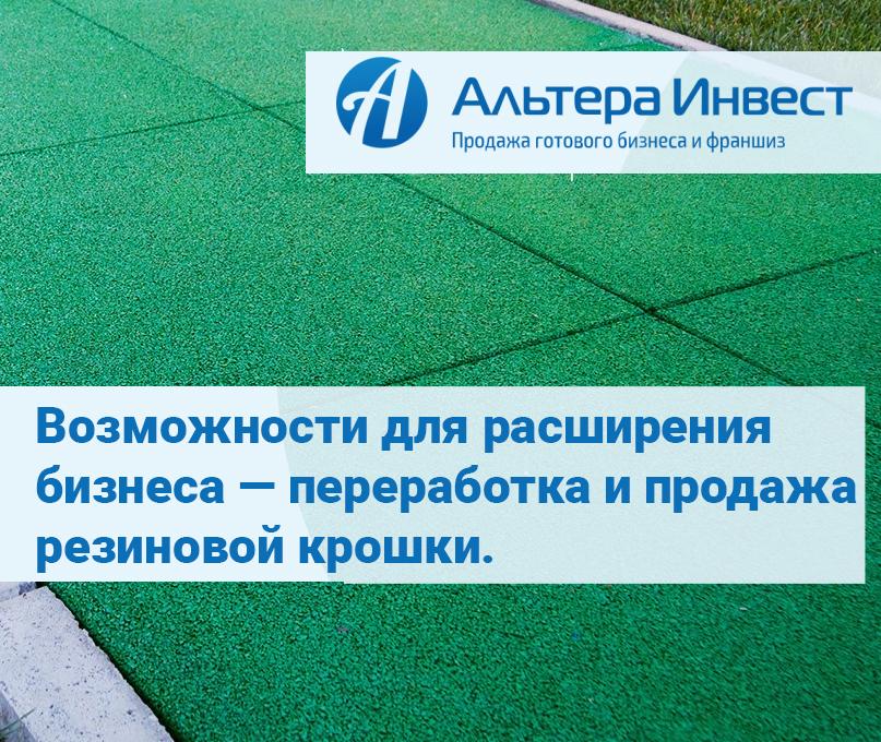 Производство плитки резиновой франшиза