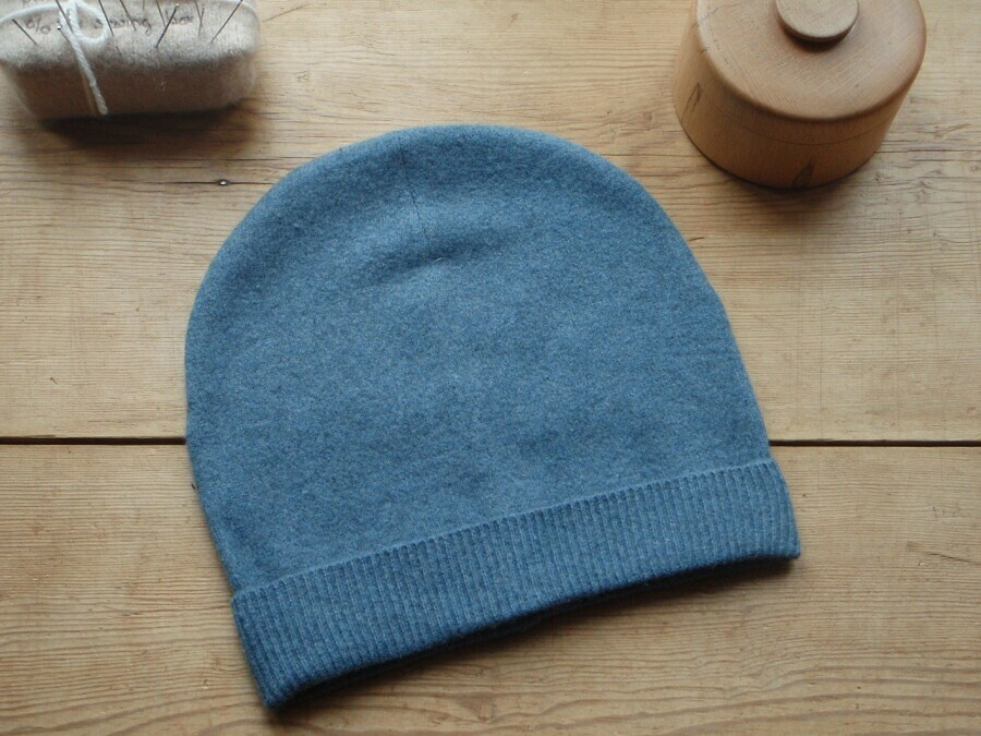 Выкройка трикотажной шапки мужской