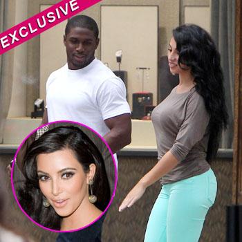 Reggie bush on kim kardashian pregnant