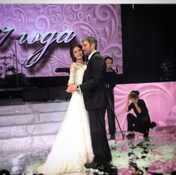Глаголева и овечкин свадьба