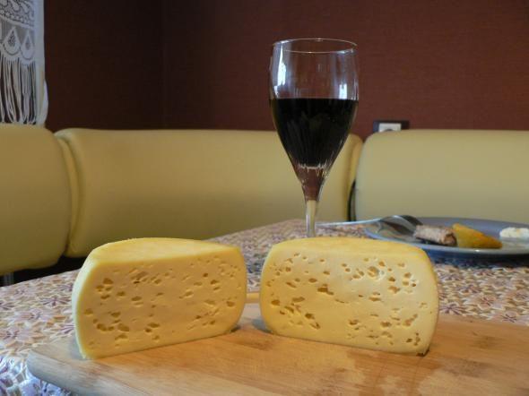 Рецепт сыр твердый
