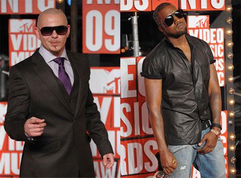 Pitbull and kanye west