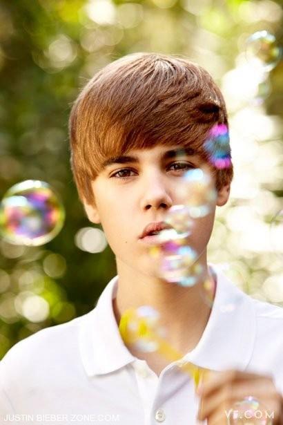 Justin Bieber foto 2011 Vanity Fair Magazine