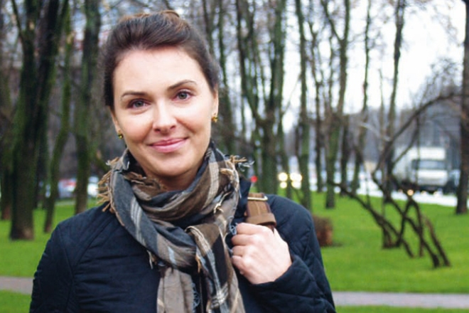 Актриса Ольга Фадеева