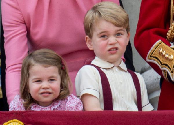 Старшие дети в семье принца