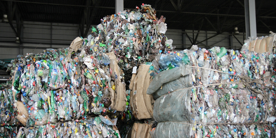Перерабатывающий завод мусора