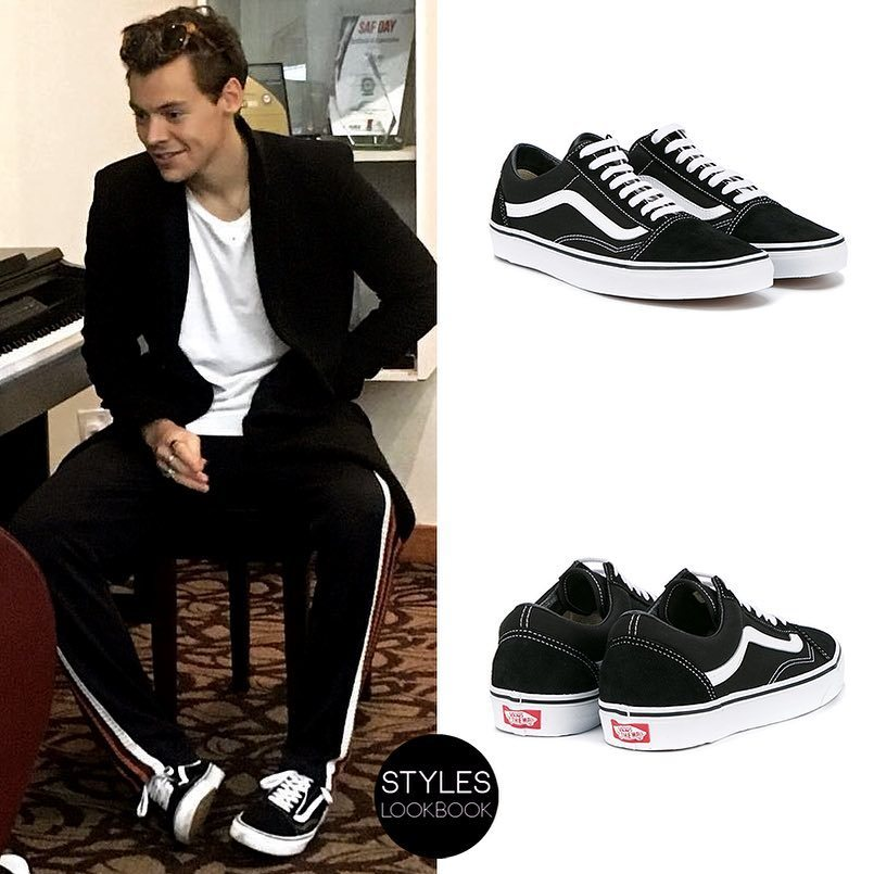 Harry styles vans shoes