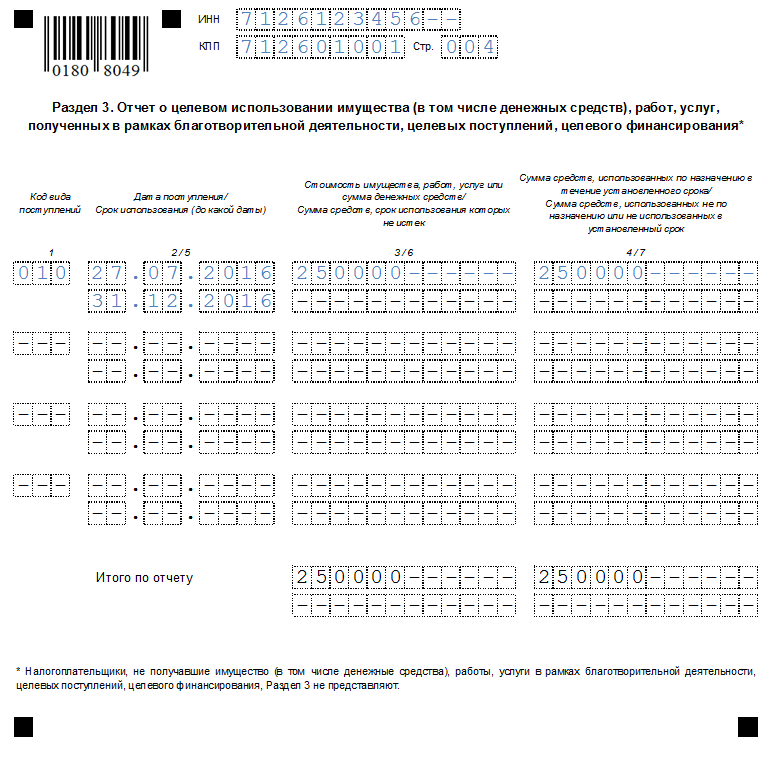 Налоговая декларация по есхн бланк