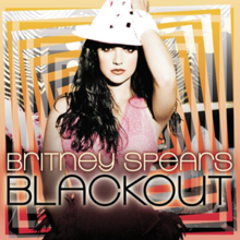Britney spears blackout poster