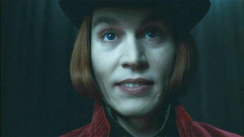 Johnny depp contact lenses