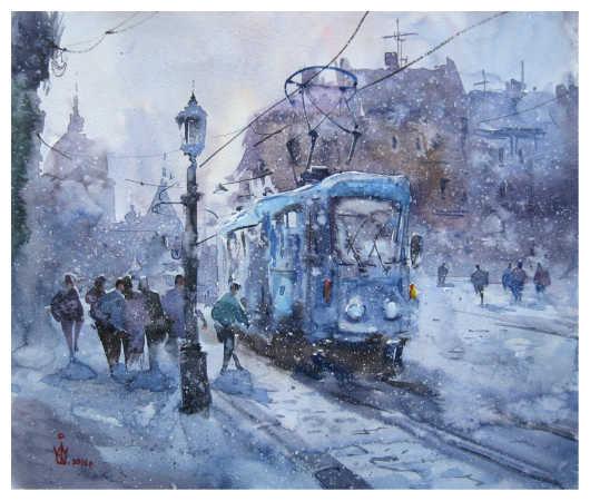 """Блакитний трамвай"""