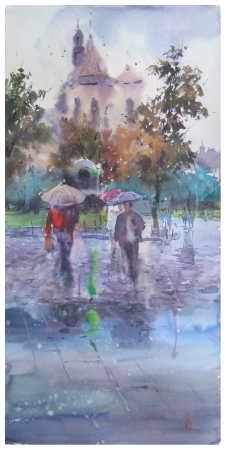 """""""Осінній дощ"""""""