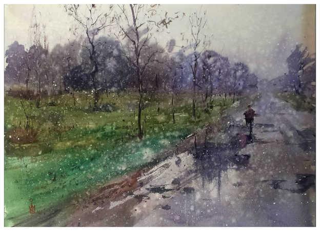 ''Мокрий сніг''