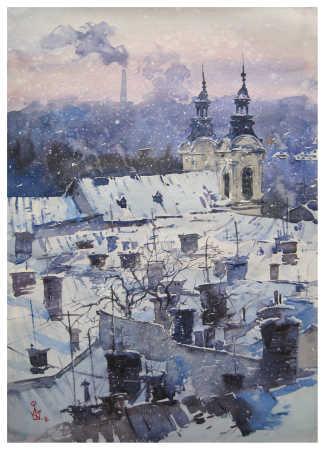 ''Зимові дахи''