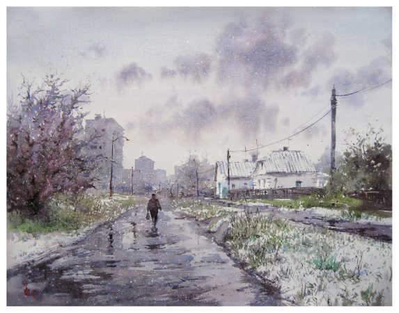 ''Сніг у квітні''