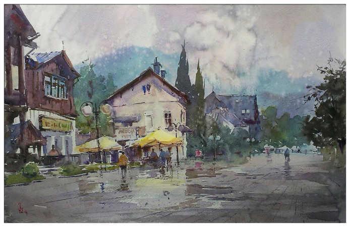 ''Дощ у Віслі''