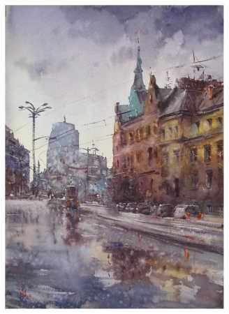 ''Дощ у Вроцлаві''