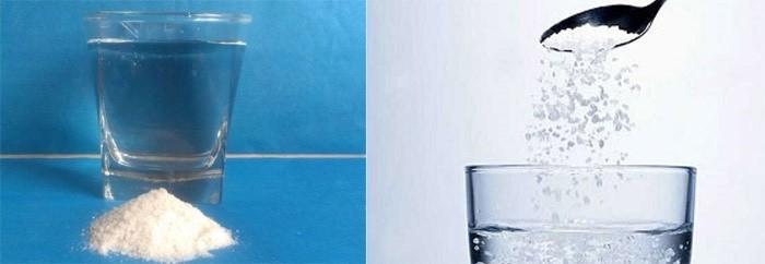 Вода с солью для чистки кишечника